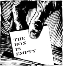The Box is Empty Logo